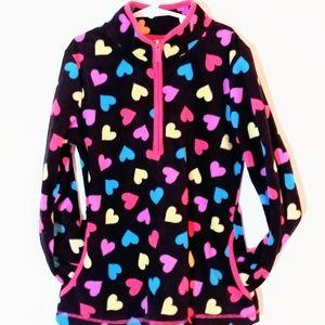 NWOT Fleece Half Zip Sweatshirt 10/12